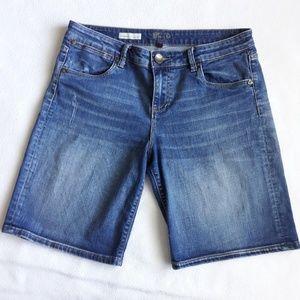 2/$25 Kut FT Kloth Catherine Boyfriend Shorts Sz 8